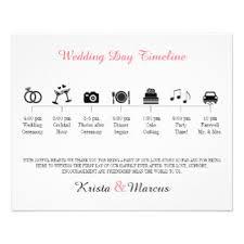 wedding day programs wedding programs zazzle
