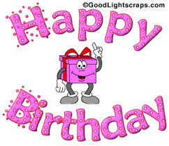 Happy Birthday Wishes Animation For Birthday Glitter Graphics Animated Bday Orkut Scraps Myspace