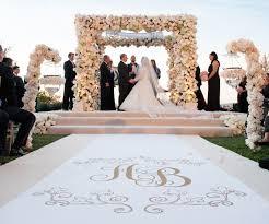 Aisle Runners For Weddings Wedding Ceremony Ideas Flower Covered Wedding Arch Inside Weddings