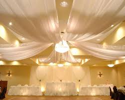 draped ceiling pipe and drape store