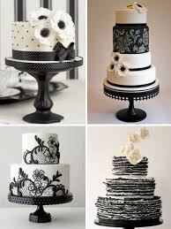 black and white wedding cakes black and white wedding cake ideas weddings by lilly