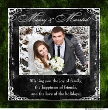 wedding announcement cards folded winter green wedding announcement cards