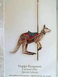hallmark carousel ornament ebay