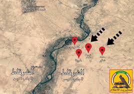 the iraqi army and the pmu control 4 villages in north east of