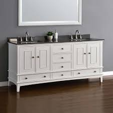 72 Bathroom Vanity Double Sink by Cambridge 72 U201d White Double Sink Vanity By Mission Hills