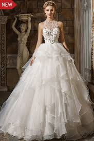 low back high neck wedding dresses with long sleeves