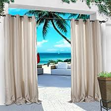Outdoor Cabana Curtains Cofty Indoor Outdoor Curtains And Drapes Eco Friendly