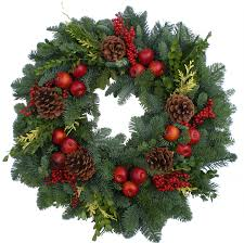 Outdoor Christmas Wreaths by Fresh Christmas Luxury Wreaths Fernhill Holly Farms