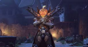 symmetra halloween skin overwatch is celebrating halloween with new loot and a brawl