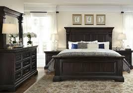 caldwell brown panel bedroom set from pulaski coleman furniture
