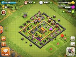 coc village layout level 5 clash of clans level 6 town hall defense thread town hall level 6
