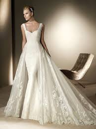 wedding dress 2012 empire modest lace overlay wedding dress collections amazing