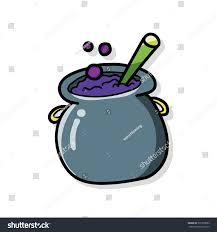 witchs pot doodle stock vector 307918583 shutterstock