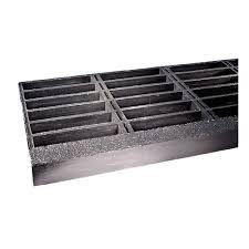Abrasive Stair Nosing by Fibergrate Fiberglass Stair Tread 144 X 12 In 16u531 879407