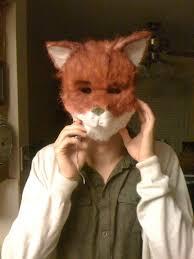 Fantastic Fox Halloween Costume Fantastic Fox Mask Halloween Interesting