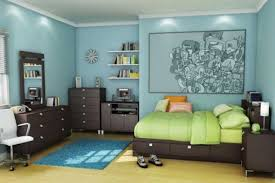 kids bedroom furniture with slide beside cupboard near study room