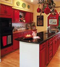 red kitchen kitchen makeover kitchen design ideas u2014 country