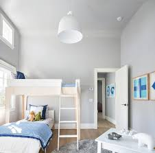 Two Tone Blue Bedroom Two Tone Kid Bed Design Ideas
