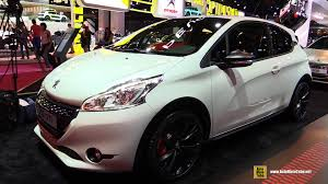 car peugeot 208 2015 peugeot 208 gti exterior and interior walkaround 2014