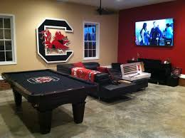 man cave alert brunswick allenton pool table with custom logo