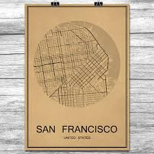 Home Decor San Francisco Compare Prices On Vintage San Francisco Poster Online Shopping