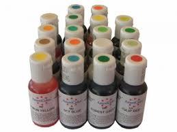 set colores americolor soft gel paste 18x19ml colorantes
