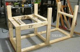 Plans For Making A Wooden Workbench by Table Saw Workbench With Wood Storage