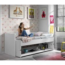 lit bureau enfant lit bureau enfant denver 201cm blanc