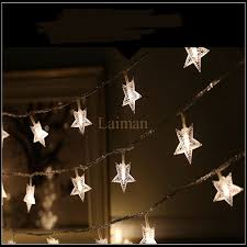 cheap 10m 100led garland outdoor star string lights five point
