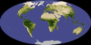 2007 World Map by Global Vegetation Nasa