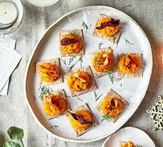 cuisine canapé vegetarian canapé recipes food