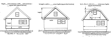 Calculating Square Footage Of House Measure For New Siding Vinyl Fiber Cement Wood Cedar Shakes