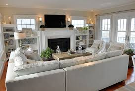 Dream Beach Cottage With Neutral Coastal Decor Home Bunch An - Furniture family room