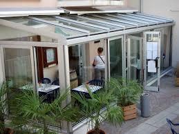 vetrata veranda progetto creazione veranda in alluminio e vetro mod technal idee