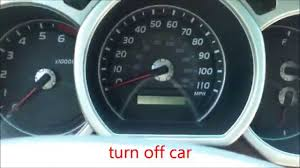 how to reset maintenance light on 2007 toyota highlander hybrid how to reset oil maintenance light toyota 4runner youtube