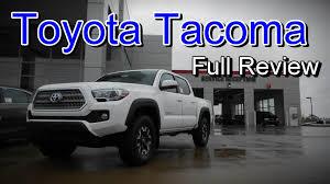 toyota lineup 2016 toyota tacoma full review sr sr5 trd sport trd off road
