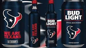 where to buy bud light nfl cans 2017 limited edition houston texans bud light cans aluminum