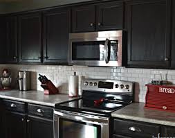 painted black kitchen cabinets black painted kitchen cabinets ideas sougi me