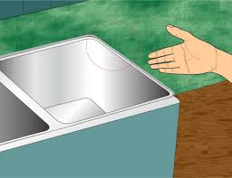 how to remove bathroom sink from counter removing a kitchen sink