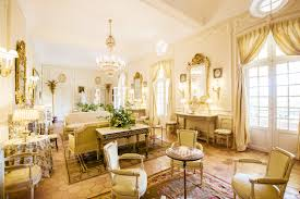 French Interiors by Christian Dior Château De La Colle French Interiors I