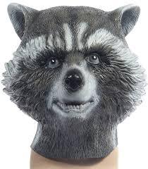 raccoon costume spirit halloween raccoon cosplay guardians of the galaxy rocket mask cosplay the