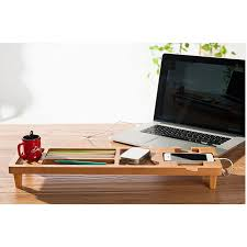 Wooden Desk Organizers Diy Bamboo Wooden Keyboard Desk Organizer Bamboo Organizer