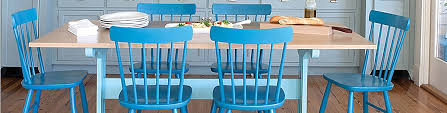 Teal Dining Table Dining Table Maine Cottage
