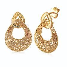 ear rings pic wired enamel gold earrings by jewelegance jewellery in 22kt