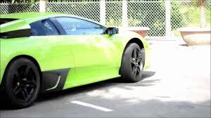 Lamborghini Murcielago Lime Green - lamborghini murcielago lp640 4 lime green việt nam youtube