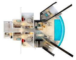 u shaped house plans with pool in middle residence one by studio rhe architecture u0026 design