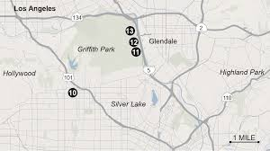 Griffith Park Map Proposed Venues For 2024 Los Angeles Olympics La Times