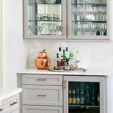 Kitchen Bar Cabinet Ideas Glass Front Bar Cabinets Design Ideas