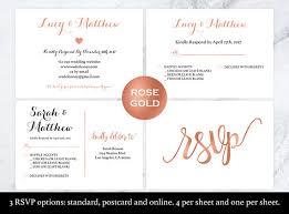 Wedding Rsvp Websites Wedding Rsvp Postcard Rose Gold Rsvp Rsvp Cards Rsvp