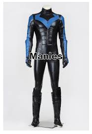 arkham city calendar man halloween aliexpress com buy batman costume arkham city nightwing